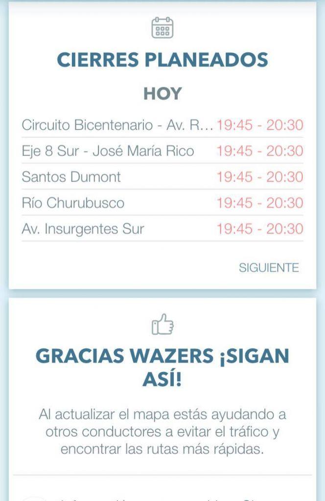 Conoce las rutas y calles cerradas por la visita del Papa a México con Waze - waze-las-rutas-y-cierres-visita-del-papa-a-mexico2