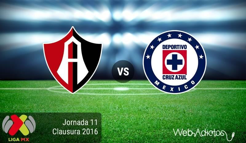 Atlas vs Cruz Azul, Torneo Clausura 2016 | Resultado: 0-2 - atlas-vs-cruz-azul-en-la-jornada-11-del-clausura-2016