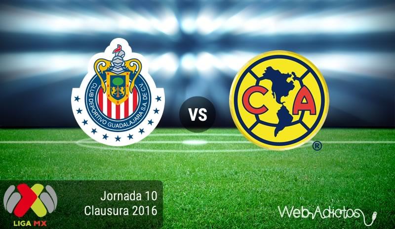 Chivas vs América, el clásico en el Clausura 2016   Jornada 10 - chivas-vs-america-clasico-en-la-jornada-10-del-clausura-2016