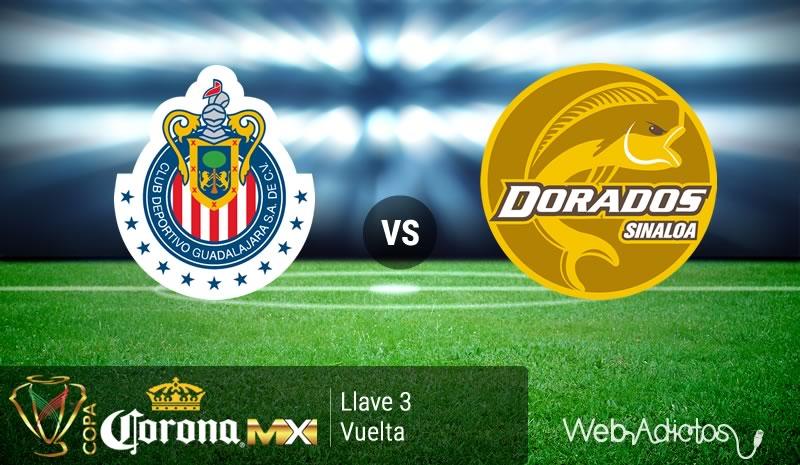 Chivas vs Dorados, Llave 3 de la Copa MX Clausura 2016 - chivas-vs-dorados-en-la-copa-mx-clausura-2016