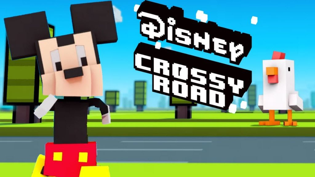 Disney prepara una versión de Crossy Road que incluirá a sus personajes - crossy-road-disney