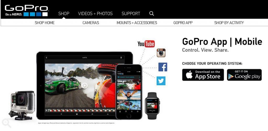 Aplicación de GoPro elimina el soporte para Windows Phone - gopro-1