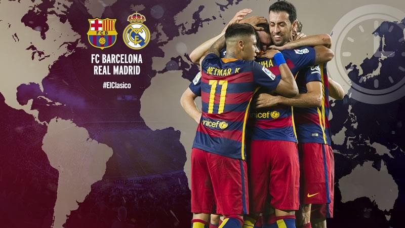 A qué hora es el Clásico Barcelona vs Real Madrid 2016 y en qué canal se transmite - horario-barcelona-vs-real-madrid-abril-2016