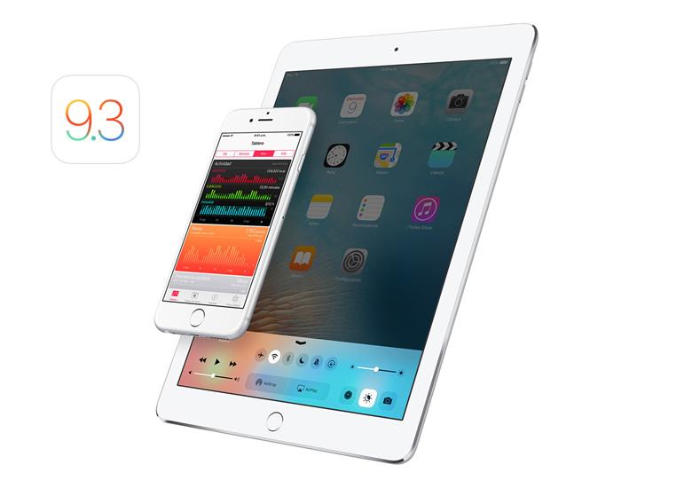iOS 9.3: Night Shift y otras novedades de esta versión - ios-9-3