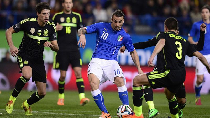 Italia vs España, Amistoso en Fecha FIFA 2016 | Resultado: 1-1 - italia-vs-espana-amistoso-2016