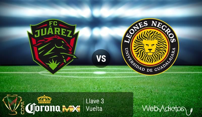 Juárez vs UDG, Llave 3 de Copa MX Clausura 2016   Vuelta - juarez-vs-udg-en-la-copa-mx-clausura-2016