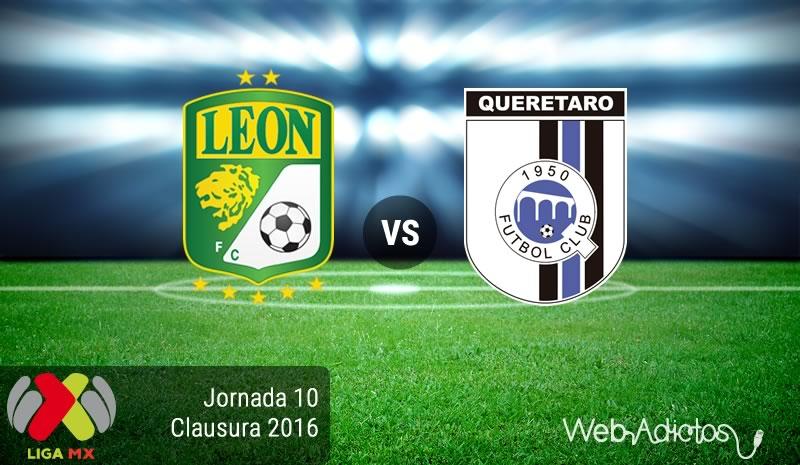 León vs Querétaro, Jornada 10 del Clausura 2016   Liga MX - leon-vs-queretaro-en-la-jornada-10-del-clausura-2016