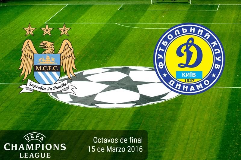 Manchester City vs Dínamo Kiev, Champions League 2016 | Octavos de final - manchester-city-vs-dinamo-kiev-en-champions-league-2015-2016