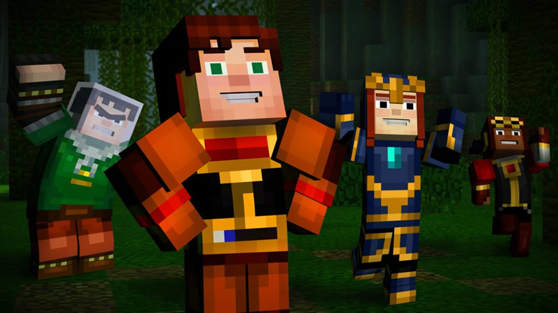 Minecraft: Story Mode regresa este 29 de marzo con el episodio 5 - minecraft-story-mode-episodio-5
