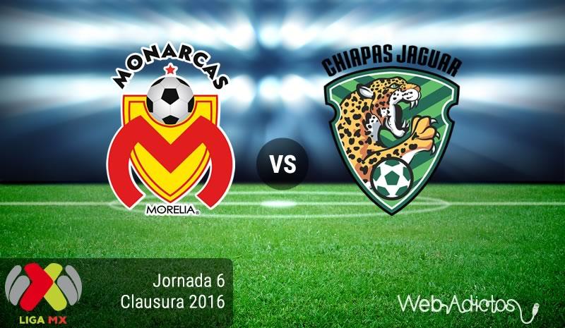 Morelia vs Jaguares, Partido pendiente del Clausura 2016 | Resultado: 2-0 - morelia-vs-jaguares-de-chiapas-jornad-6-del-clausura-2016