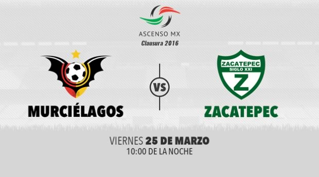 Murciélagos vs Zacatepec, Ascenso MX Clausura 2016 | Resultado: 2-1 - murcielagos-vs-zacatepec-por-televisa-deportes-ascenso-mx-clausura-2016