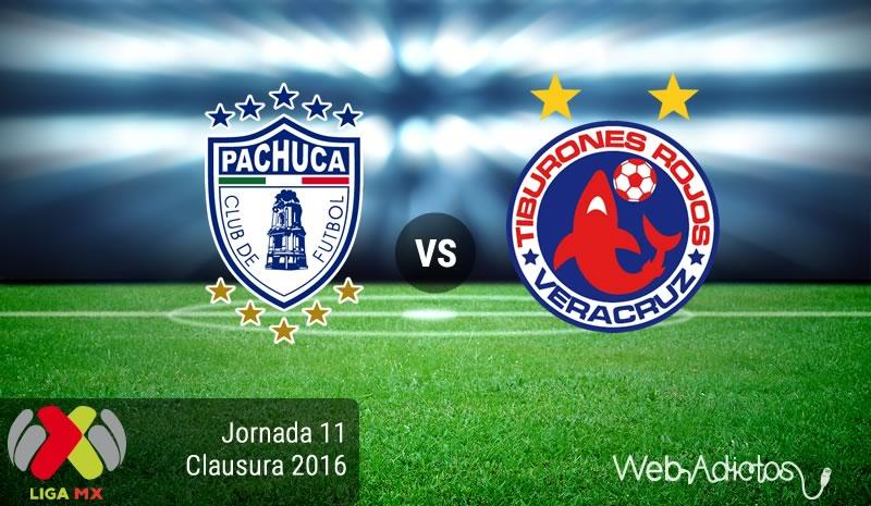 Pachuca vs Veracruz, Jornada 11 del C2016 | Resultado: 6-0 - pachuca-vs-veracruz-en-la-jornada-11-del-clausura-2016