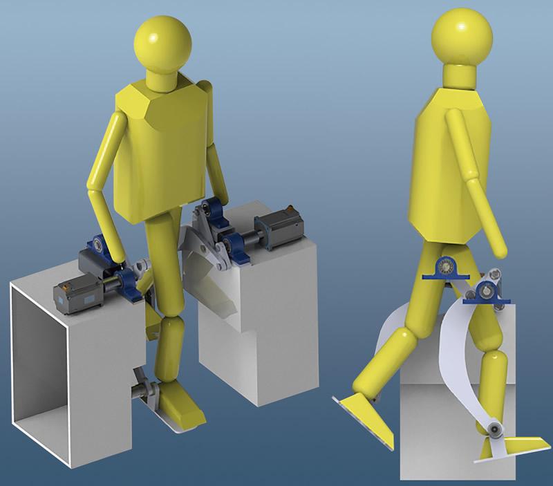 Niños con parálisis cerebral aprenden a caminar con sistema mecánico del IPN - sistema-mecanico-del-ipn