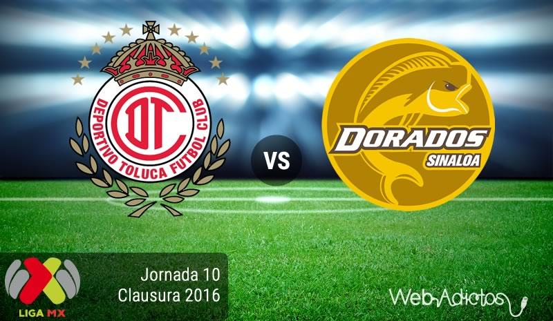 Toluca vs Dorados, Jornada 10 del Clausura 2016 | Liga MX - toluca-vs-dorados-en-la-jornada-10-del-clausura-2016