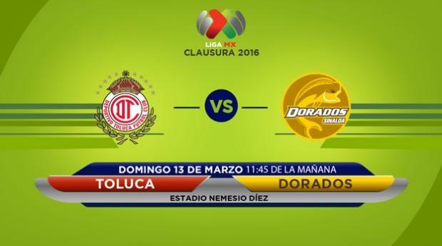 Toluca vs Dorados, Jornada 10 del Clausura 2016 | Liga MX - toluca-vs-dorados-en-vivo-en-el-clausura-2016