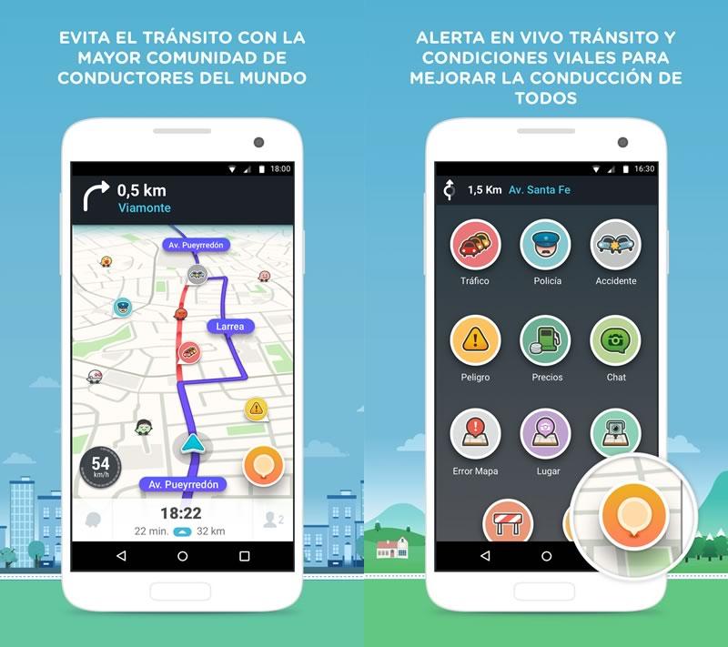 Waze para Android estrena nuevo diseño - waze-4-para-android