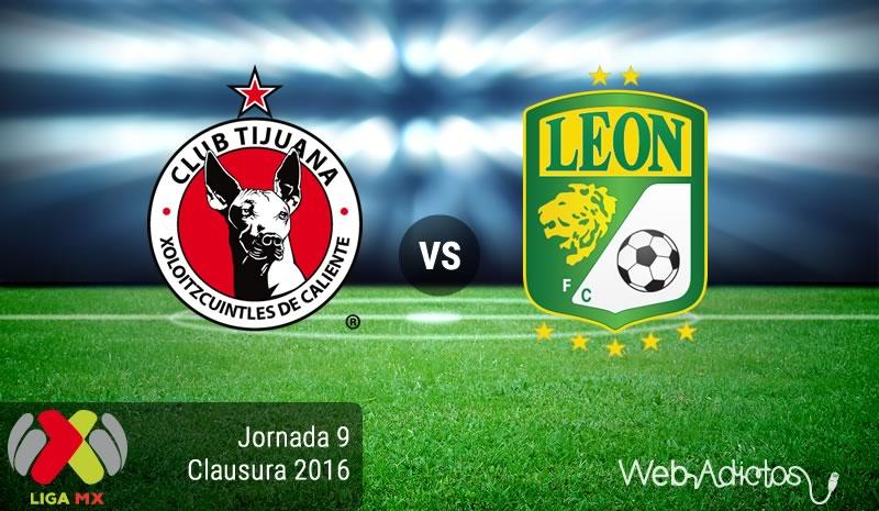 Tijuana vs León, Jornada 9 del Clausura 2016 | Liga MX - xolos-de-tijuana-vs-leon-jornada-9-del-clausura-2016