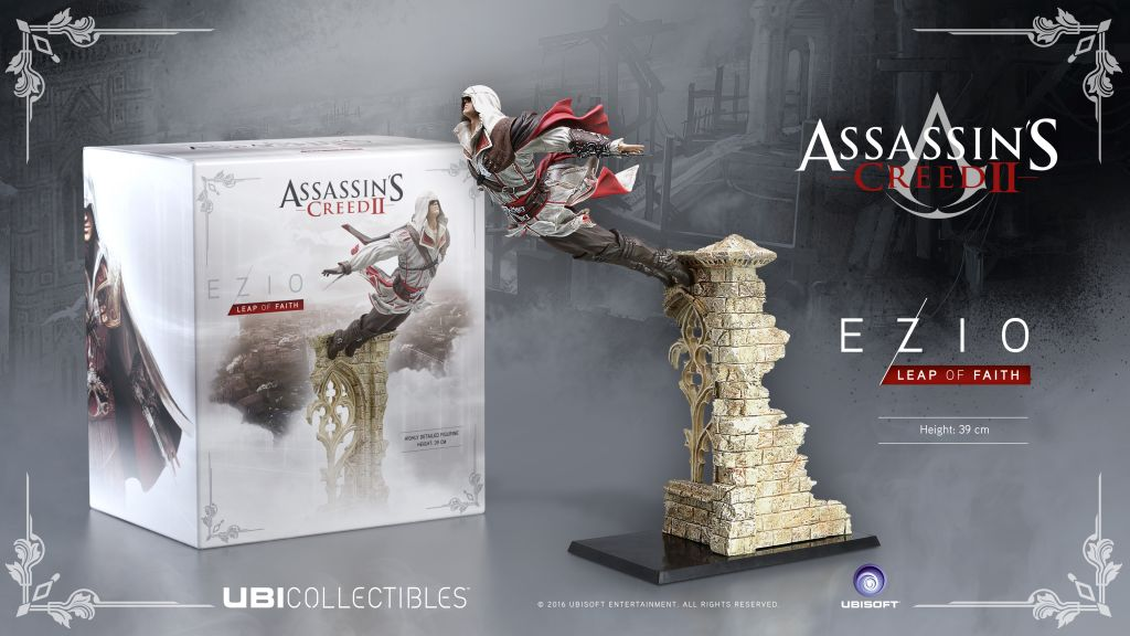 Ubisoft revela las nuevas figuras de Assassin's Creed - ac2_ezio-lof_figurine_mock-up_en_1459987622