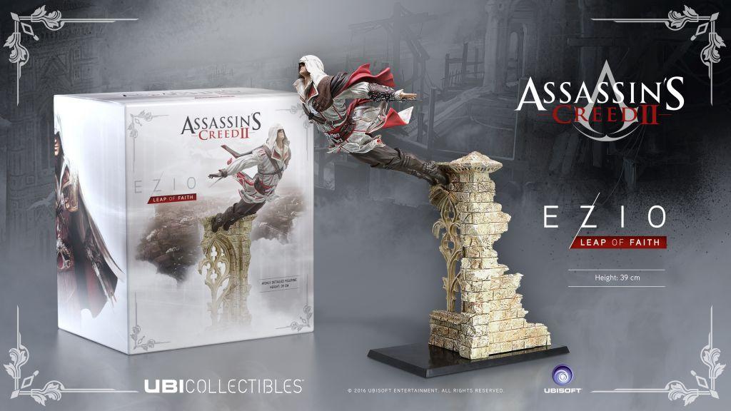 Ubisoft revela las nuevas figuras de Assassin's Creed - ac2_ezio-lof_figurine_mock-up_en_1459987622