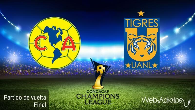 América vs Tigres, Final de Concachampions 2016 | Resultado: 2-1 - america-vs-tigres-final-de-concachampions-2016