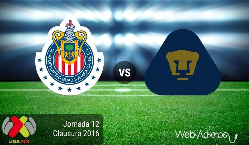 Chivas vs Pumas, Jornada 12 del Clausura 2016 | Resultado: 4-0 - chivas-vs-pumas-jornada-12-del-clausura-2016