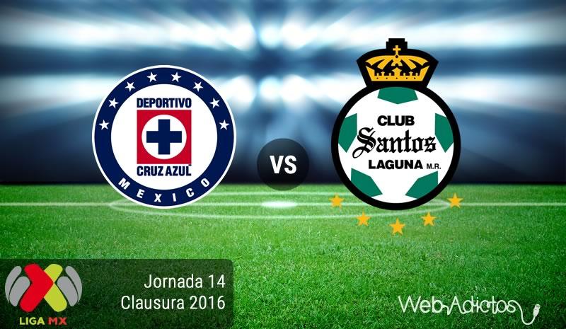 Cruz Azul vs Santos, J14 del Clausura 2016 | Resultado: 0-1 - cruz-azul-vs-santos-jornada-14-del-clausura-2016
