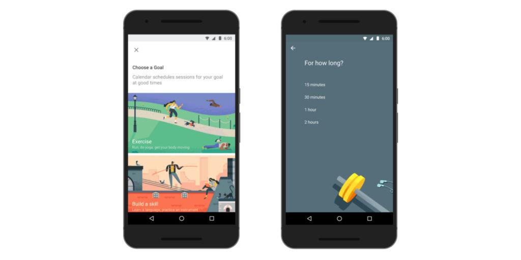 Google Calendar presenta Goals, para ayudarte a cumplir tus metas - google-calendar-goals
