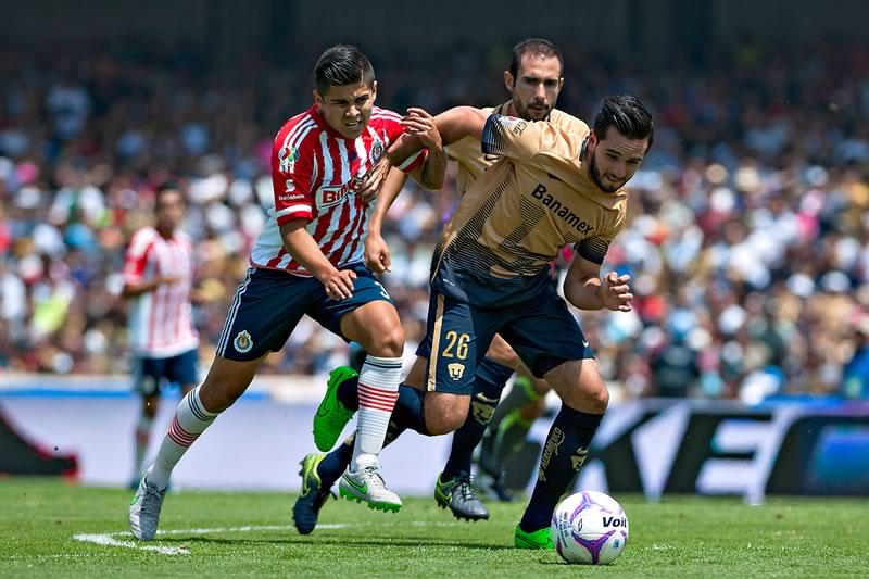A qué hora juega Chivas vs Pumas en el Clausura 2016 y en qué canal verlo - horario-chivas-vs-pumas-clausura-2016
