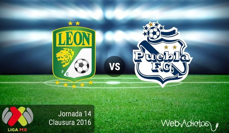 León vs Puebla, Jornada 14 del Clausura 2016 | Resultado: 4-1 - leon-vs-puebla-jornada-14-del-clausura-2016