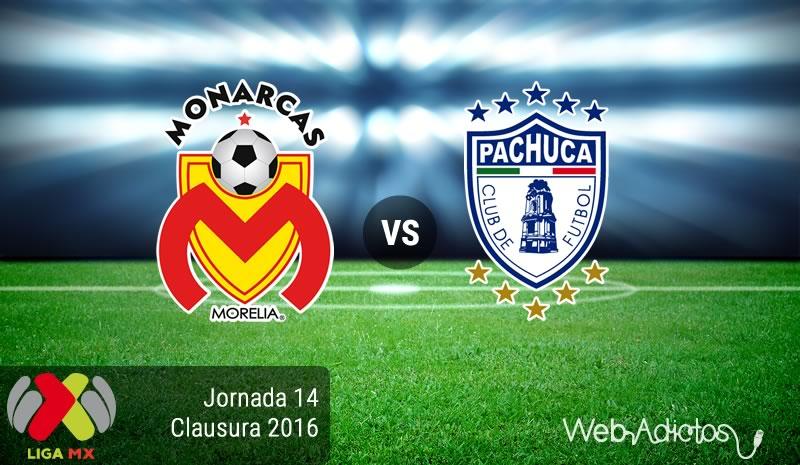 Morelia vs Pachuca, Jornada 14 del Clausura 2016   Resultado: 1-0 - monarcas-morelia-vs-pachuca-jornada-14-del-clausura-2016