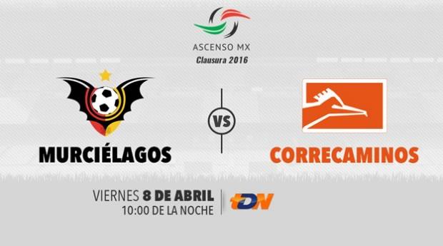 Murciélagos vs Correcaminos, J14 del Ascenso MX C2016 | Resultado: 5-0 - murcielagos-vs-correcaminos-por-tdn-clausura-2016