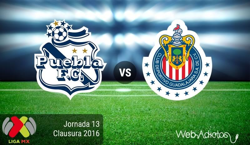 Puebla vs Chivas, Jornada 13 del Clausura 2016 | Resultado: 0-3 - puebla-vs-chivas-jornada-13-del-clausura-2016