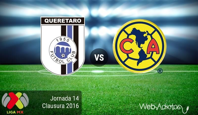 Querétaro vs América, Jornada 14 del Clausura 2016 | Resultado: 1-0 - queretaro-vs-america-jornada-14-del-clausura-2016