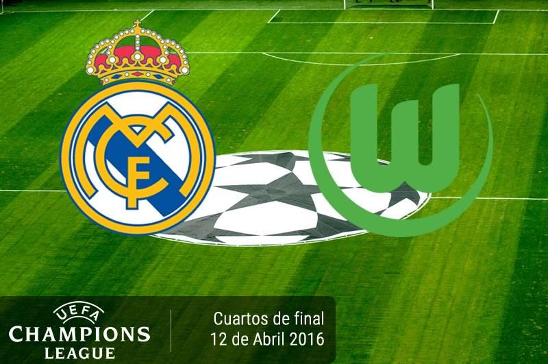 Real Madrid vs Wolfsburg, Champions League 2016 | Resultado: 3-0 - real-madrid-vs-wolfsburg-en-champions-league-2015-2016