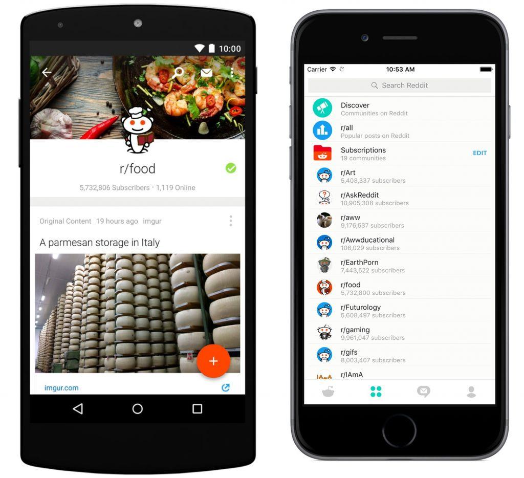 Reddit lanza su aplicación oficial para Android y iOS - reddit-papp