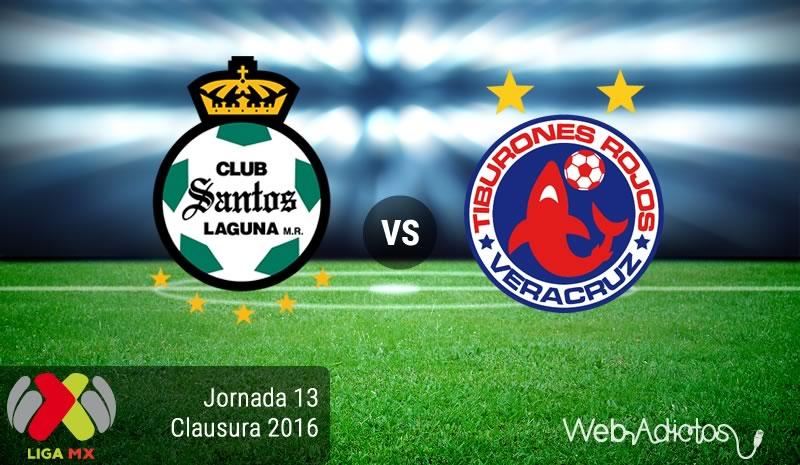 Santos vs Veracruz, Torneo Clausura 2016 | Resultado: 2-0 - santos-vs-veracruz-jornada-13-del-clausura-2016