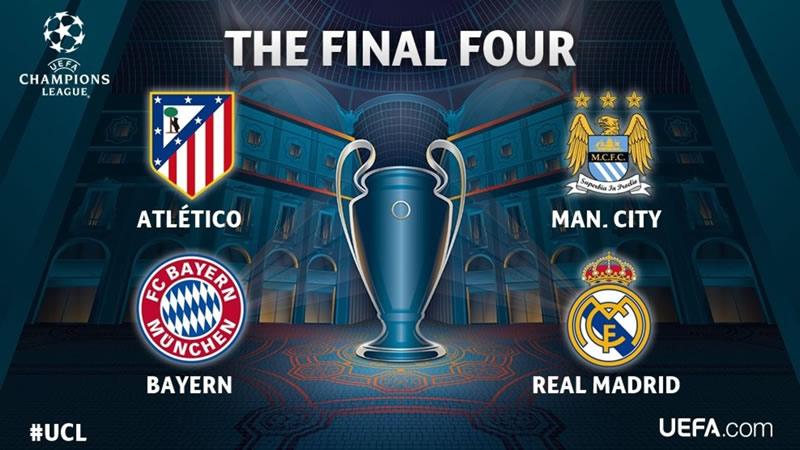 Semifinales de Champions League 2016; horarios y en qué canales ver los partidos - semifinales-champions-league-2016-horarios-y-canales