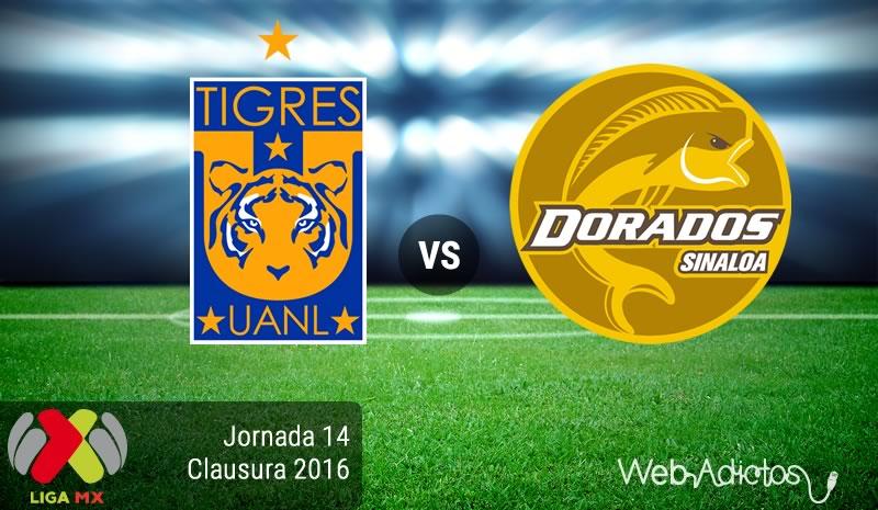 Tigres vs Dorados, J14 del Clausura 2016 | Resultado: 5-2 - tigres-vs-dorados-jornada-14-del-clausura-2016