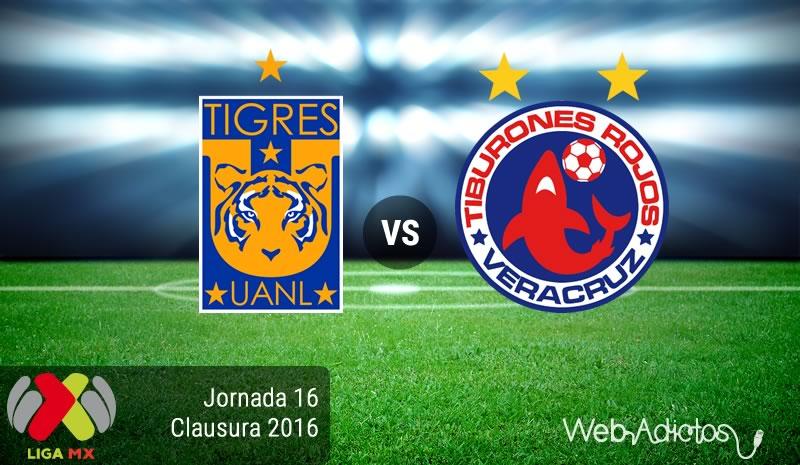 Tigres vs Veracruz, Jornada 16 Clausura 2016   Resultado: 0-0 - tigres-vs-veracruz-jornada-16-del-clausura-2016