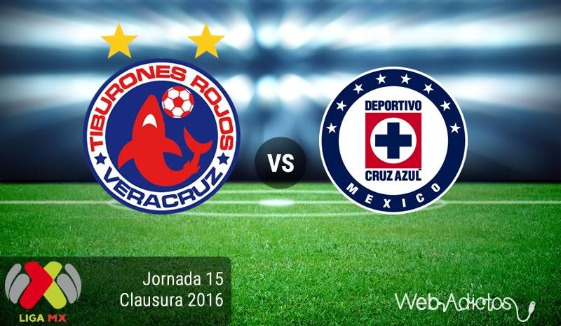 Veracruz vs Cruz Azul, J15 del Clausura 2016   Resultado: 2-1 - veracruz-vs-cruz-azul-jornada-15-del-clausura-2016