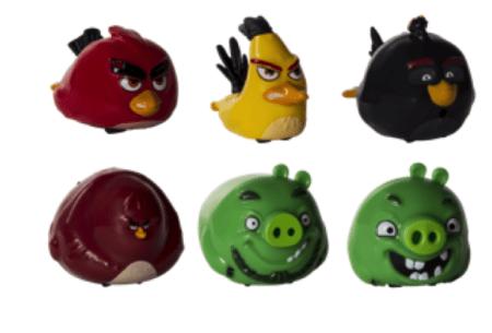 Conoce la nueva colección de juguetes de Angry Birds - angry-birds-speedters-450x305