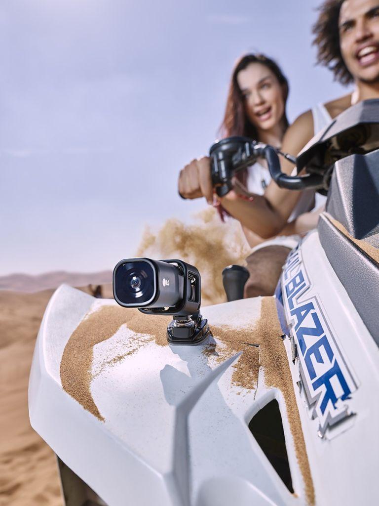 LG Action CAM LTE, cámara de acción con streaming en vivo a través de 4G - lg-action-cam-lte-1