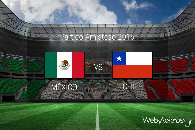 México vs Chile 2016, Partido amistoso | Resultado: 1-0 - mexico-vs-chile-2016-amistoso