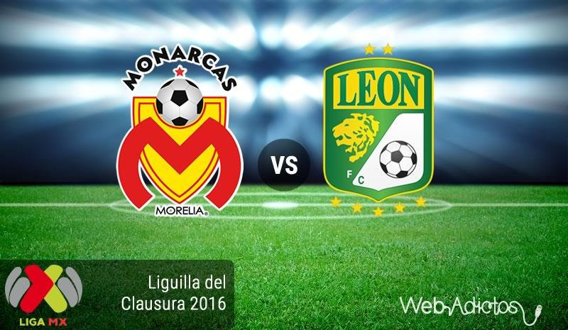 Morelia vs León, Liguilla del Clausura 2016 | Resultado: 1-1 - morelia-vs-leon-liguilla-del-clausura-2016
