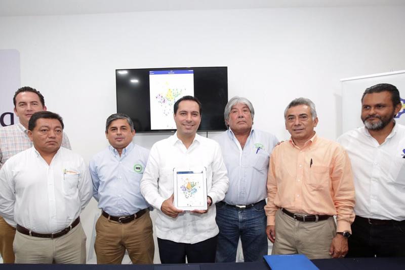 Mérida, Primera en usar tecnologías de la información para mejorar servicios públicos - nueva-app-merida-movil