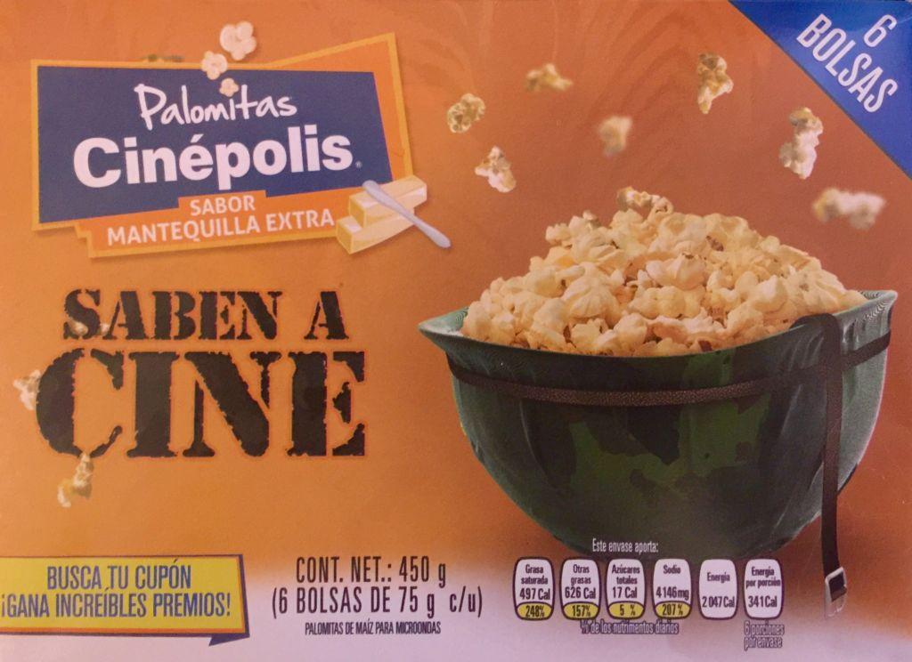 Cinépolis lanza las Palomitas Cinépolis para Microondas - palomitas-cinepolis-sabor-mantequilla-extra