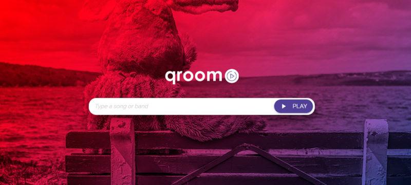 Qroom, una opción para escuchar música gratis y sin registros - qroom-music-2-800x360