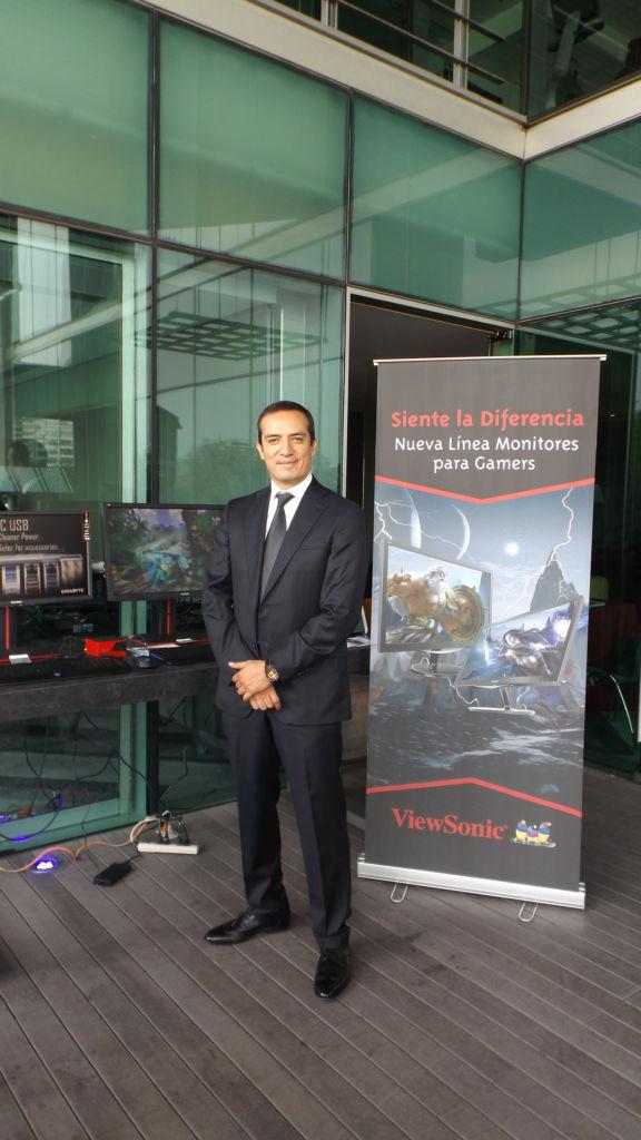 ViewSonic presentó sus monitores XG para Gamers en México - ricardo-navarrete