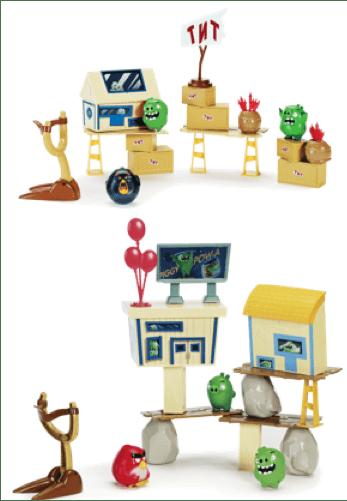 Conoce la nueva colección de juguetes de Angry Birds - sets-de-juego