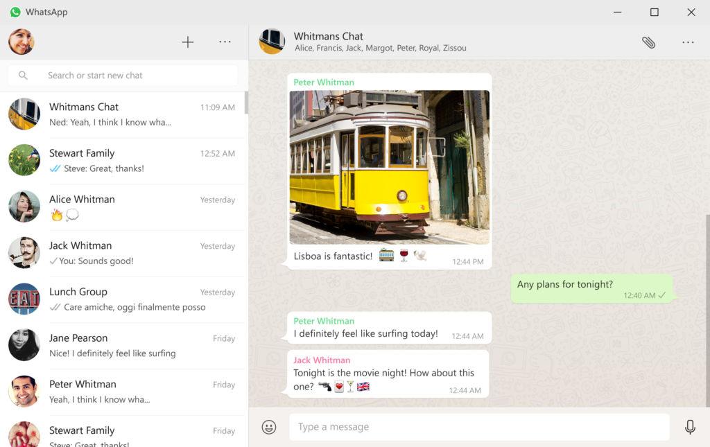 WhatsApp lanza su versión para computadora - whatsapp-windows